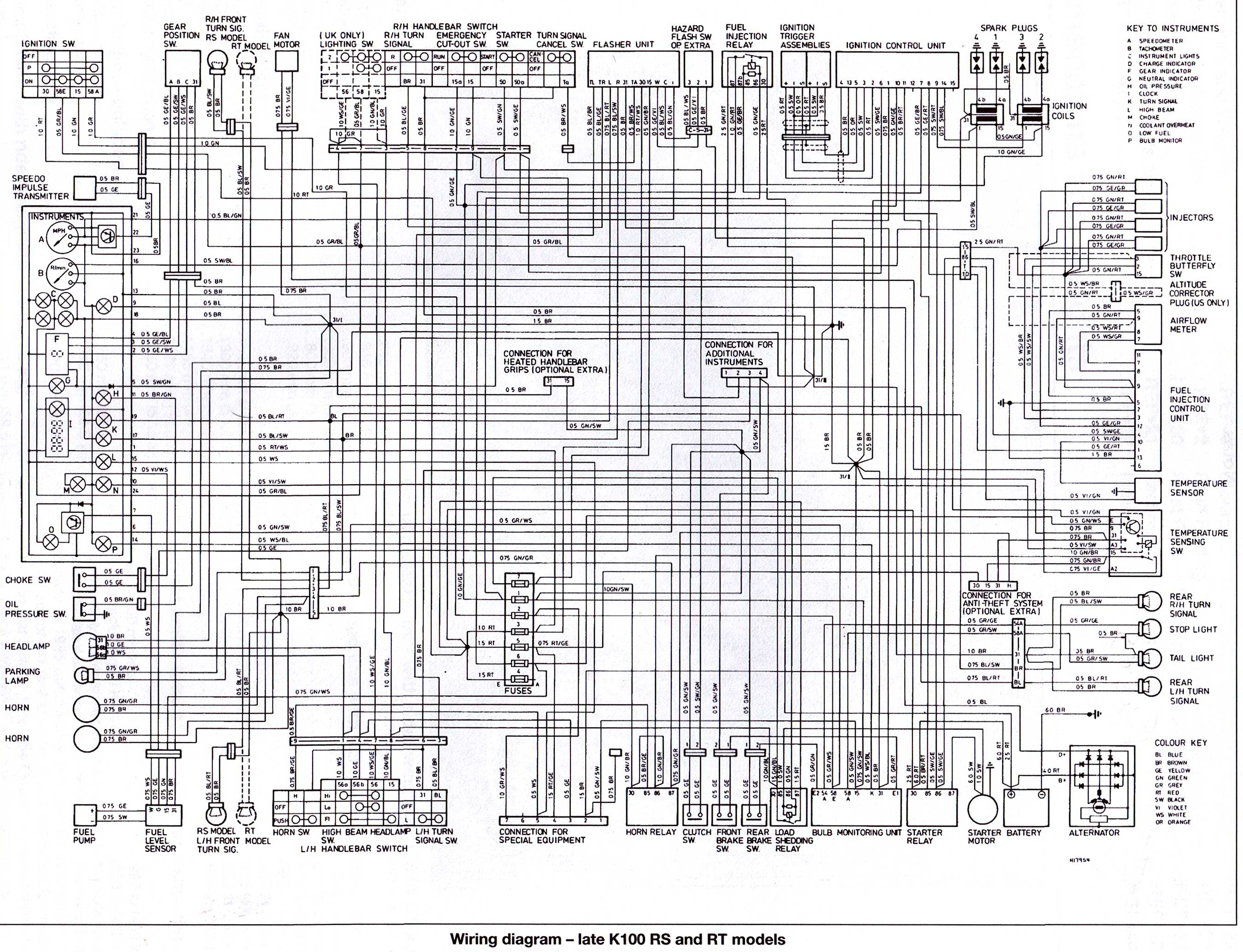 K Rs Rt Late on Bmw E90 Wiring Diagram